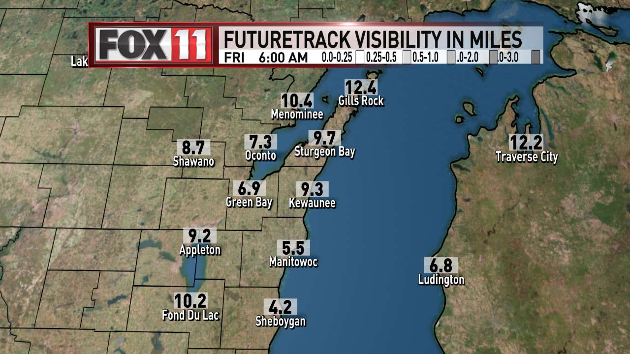 FOX 11 Weather | Northeast Wisconsin AM Visibility