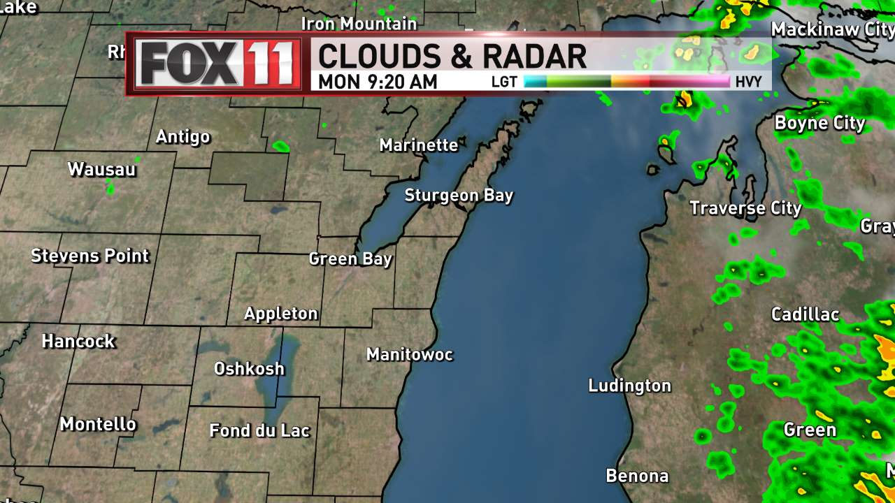 FOX 11 Weather | Lake Michigan Satellite and Radar