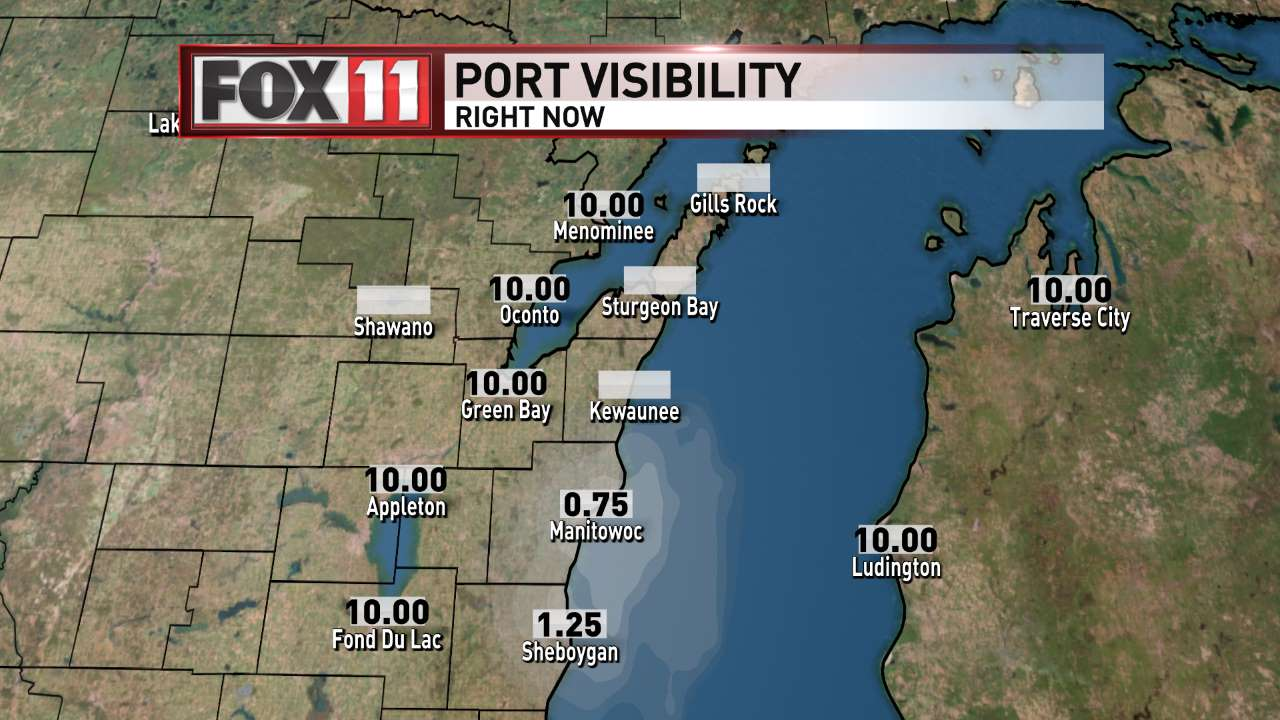 FOX 11 Weather | Port Visibility